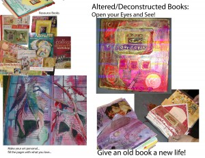Samples of Altered Books and Resource Books