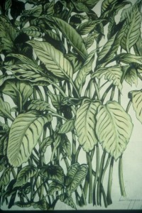 Paul Brigg's Line and Foliage in Marker